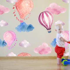 Baby room by Kromart Wallcoverings - Papel Tapiz Personalizado