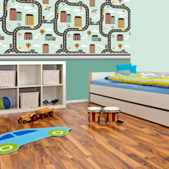 Boys Bedroom by Kromart Wallcoverings - Papel Tapiz Personalizado , Modern
