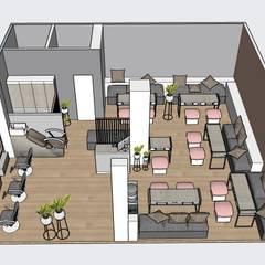 Spa de Uñas: Espacios comerciales de estilo  por EP+1 Arquitectos