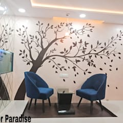 Vasai Project:  Conservatory by Interior Paradise,Modern Engineered Wood Transparent