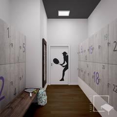 Gym by 4 kąty a stół 5 Pracownia Projektowa Ewelina Białobrzewska