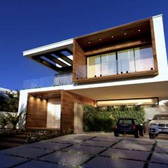Projeto: Casas familiares  por Gelker Ribeiro Arquitetura | Arquiteto Rio de Janeiro