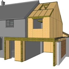 SIPS Design & Supply:  Wooden houses by Building With Frames