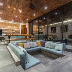 Villa Lagu Tulum: Salas de estilo  por Obed Clemente Arquitectura
