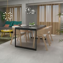 Home Staging Virtual: Comedores de estilo  de GAP interiorismo