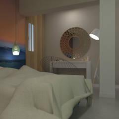 Home Staging Virtual: Dormitorios de estilo  de GAP interiorismo