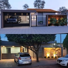 Rumah tinggal  by Alessandro Ramos Arquitetura