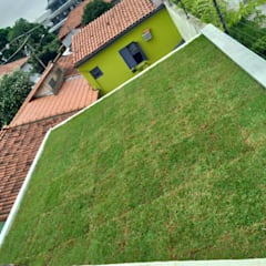 Flat roof by telhado verde sp