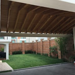 Gable roof by Arqca