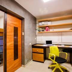 Estudio-Arquitecta_2C: Estudios y oficinas de estilo  por WeisCoello Arquitectos