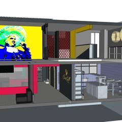 KARAOKE LEON: Bares y discotecas de estilo  por MIDA