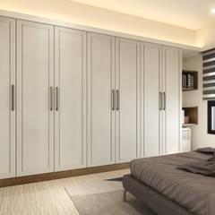 Bedroom by 木博士團隊/動念室內設計制作