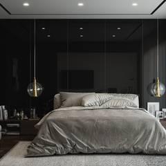 Esko İçmimarlık – NB HOUSE :  tarz Yatak Odası