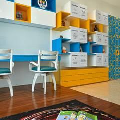 غرفة نوم أولاد تنفيذ Ar. Milind Pai , حداثي