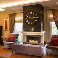 Zekeriyakoy Housing:  Living room by Artstone