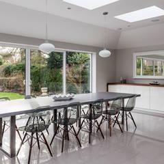 John Ladbury kitchen in Hertfordshire:  Built-in kitchens by John Ladbury and Company