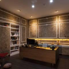 Study/office by 敘述室內裝修設計有限公司