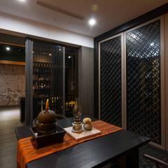 Ruang Kerja oleh 敘述室內裝修設計有限公司, Asia