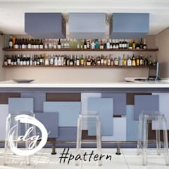 Bodegas de vino de estilo  por Deborah Garth Interior Design International (Pty)Ltd,