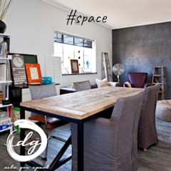 Space:  Study/office by Deborah Garth Interior Design