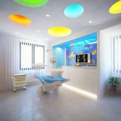 Meteor Mimarlık & Tasarım – DİŞ HEKİMİ / PEDODONTİ KLİNİĞİ:  tarz Hastaneler