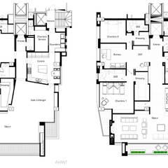 Casas multifamiliares de estilo  por Catalina Castro Blanchet