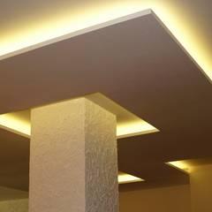 Cielorrasos - Tabiques - Revestimientos de Tau Construcciones Moderno
