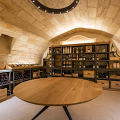 Wine cellar by 3759 Architecture, Minimalist