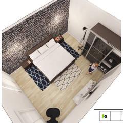 Diseño y Decoración de Espacios Modernos y vanguardistas : Habitaciones de estilo  por SaArquitectos