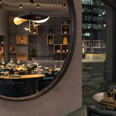 餐廳 by Grippo + Murzi Architetti, 現代風