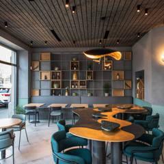 Modern gastronomy by Grippo + Murzi Architetti Modern