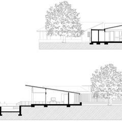 Finca Las Marías - Sasaima: Casas de estilo  por EVA Arquitectos SAS, Rural