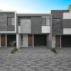 Terrace house by archbauen