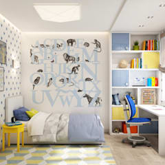 Boys Bedroom by Etevios
