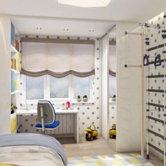 Boys Bedroom by Etevios