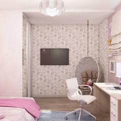 ЖК Оазис: Спальни для девочек в . Автор – Etevios