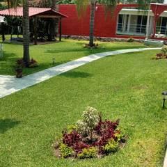 Front yard by VIVERO LA FLOR DE MORELOS,