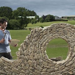 Rock Garden by Atrium Vale Pedras e Projetos, Modern Stone