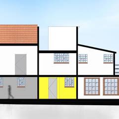 Proyecto Soltepec, Casa Habitación: Casas de campo de estilo  por Arquitectos Rosette Rivera