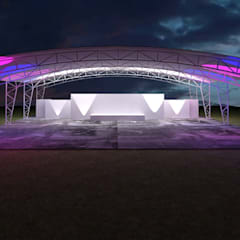 Event venues by Neofusion S.A. de C.V., Colonial Iron/Steel