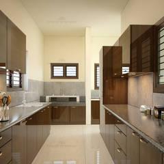 آشپزخانه by Monnaie Interiors Pvt Ltd
