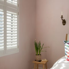 Minimal on Content But Huge on Style:  Bedroom by Plantation Shutters Ltd