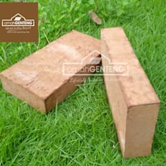 HP/WA: 08122833040 - Bata Expose - Bata Ekspos - Batu Bata Ekspos - Omah Genteng: Dinding oleh Omah Genteng, Country Batu Bata