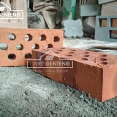 HP/WA: 08122833040 - Bata Expose - Bata Ekspos - Batu Bata Ekspos - Omah Genteng:  Dinding by Omah Genteng