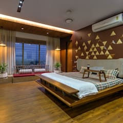 Asian style bedroom by Studio Living Stone Asian