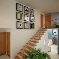 Stairs by Citlali Villarreal Interiorismo & Diseño,