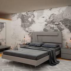 Teen bedroom توسطCitlali Villarreal Interiorismo & Diseño