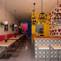 Nhà hàng by Citlali Villarreal Interiorismo & Diseño