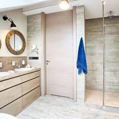 Apartament  120: styl , w kategorii Łazienka zaprojektowany przez emDesign home & decoration