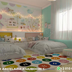 Girls Bedroom توسطUTOPIA DESIGNS AND CONSTRUCTION, مدرن